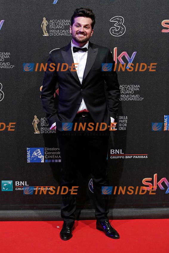 Frank Matano<br /> Roma 27-03-2017. Premio David di Donatello 2017.<br /> Rome March 27th 2017. David di Donatello ceremony 2017. <br /> Foto Samantha Zucchi Insidefoto