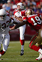Scott Player, of the Arizona Cardinals, in action during thier game against the San Francisco 49ers on December 4, 2005..Rob Holt / SportPics..Cardinals win 17-10