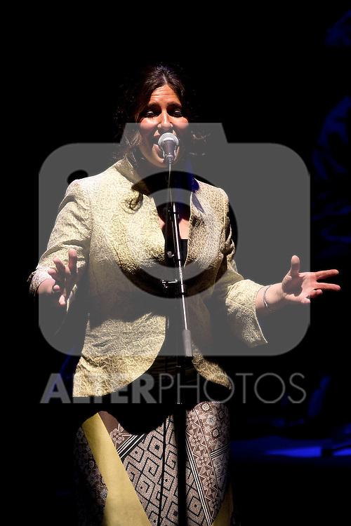 Luar na Lubre's during a concert at Circulo de Bellas Artes in Madrid. June, 7, 2012. .(ALTERPHOTOS/Alconada) ..