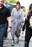 NEW YORK, NY - AUGUST 31: Jennifer Lopez on the set of her new music video in New York City on August 31, 2017. Credit: RW/MediaPunch