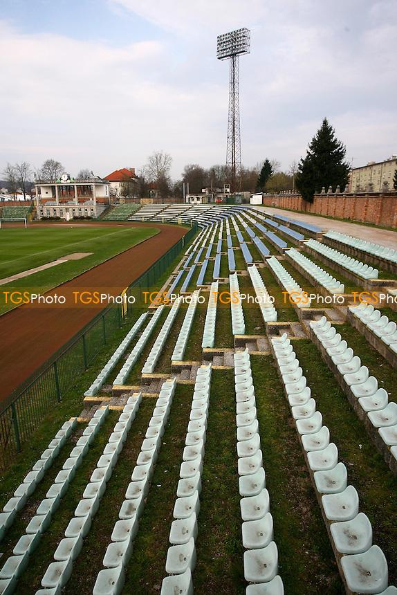 Centralni Bezigrad Stadion, Vodovodna cesta 20, p.p. 2620, 1000 Ljubljana, Slovenia - Olimpija Ljubljana Football Club - 27/03/07 - MANDATORY CREDIT: Gavin Ellis/TGSPHOTO