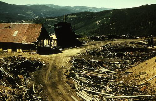 D&amp;RGW Marshall Pass Summit ruins.<br /> D&amp;RGW  Marshall Pass, CO