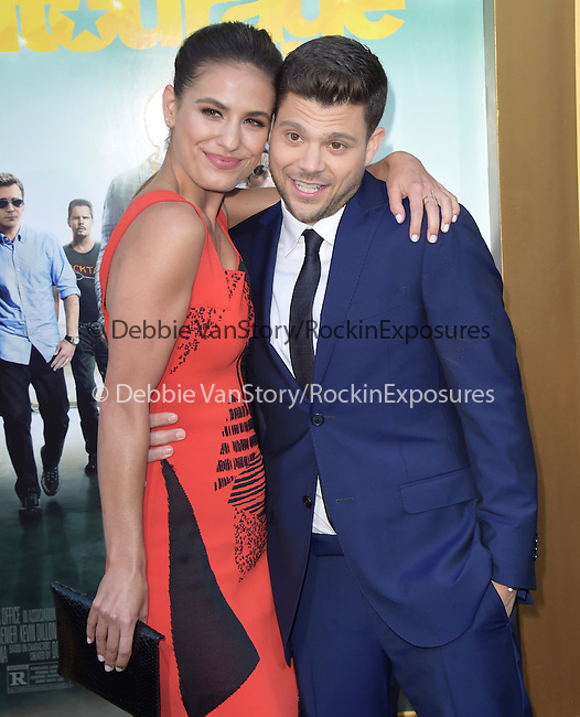Jerry Ferrara and Breanne Racano attends The Warner Bros. Pictures' L.A. Premiere of Entourage held at The Regency Village Theatre  in Westwood, California on June 01,2015                                                                               © 2015 Hollywood Press Agency