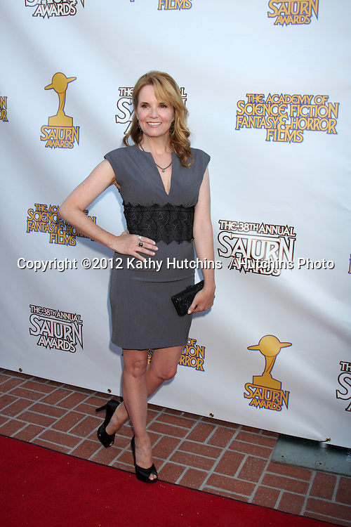 LOS ANGELES - JUL 26:  Lea Thompson arrives at the 2012 Saturn Awards at Castaways on July 26, 2012 in Burbank, CA