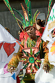 Flamboyan mas band on Children's Day at Notting Hill Carnival