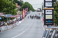 Finish. Upcoming Sprint. <br /> <br /> <br /> 71th Halle Ingooigem 2018 (1.1)<br /> 1 Day Race: Halle &gt; Ingooigem (197.7km)