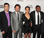 BEVERLY HILLS, CA - NOVEMBER 19: Jonathan Gordon, Bradley Cooper, Jennifer Lawrence, Chris Tucker, David O. Russell, Bruce Cohen arrive at the 'Silver Linings Playbook' - Los Angeles Special Screening at the Academy of Motion Picture Arts and Sciences on November 19, 2012 in Beverly Hills, California.