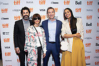 """TORONTO, ONTARIO - SEPTEMBER 07: Rosario Dawson - Chad Hamilton - Ady Greenwald - Ana Lily Greenwald attend the """"Briarpatch"""" premiere during the 2019 Toronto International Film Festival at TIFF Bell Lightbox on September 07, 2019 in Toronto, Canada. <br /> CAP/MPI/IS/PICJER<br /> ©PICJER/IS/MPI/Capital Pictures"""