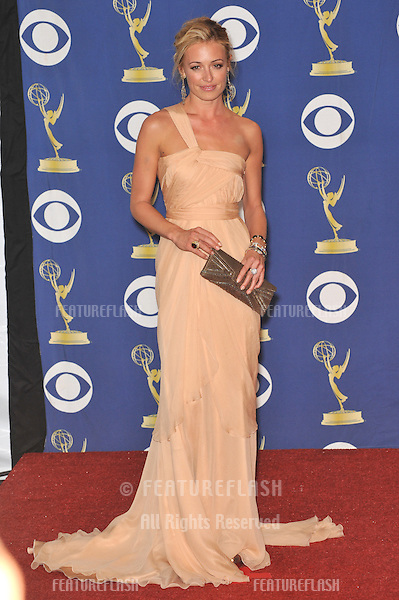 Cat Deeley at the 61st Primetime Emmy Awards at the Nokia Theatre L.A. Live..September 20, 2009  Los Angeles, CA.Picture: Paul Smith / Featureflash