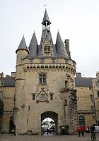 General view of Porte Cailhau, Bordeaux, Nouvelle-Aquitaine, France on 16.10.19.