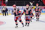 S&ouml;dert&auml;lje 2015-01-06 Ishockey Hockeyallsvenskan S&ouml;dert&auml;lje SK - Malm&ouml; Redhawks :  <br /> S&ouml;dert&auml;ljes Jesper Fr&ouml;d&eacute;n , S&ouml;dert&auml;ljes Jesper Th&ouml;rnberg deppar med lagkamrater efter matchen<br /> (Foto: Kenta J&ouml;nsson) Nyckelord:  depp besviken besvikelse sorg ledsen deppig nedst&auml;md uppgiven sad disappointment disappointed dejected
