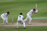 Nick Browne hits 4 runs for Essex during Warwickshire CCC vs Essex CCC, Specsavers County Championship Division 1 Cricket at Edgbaston Stadium on 12th September 2019