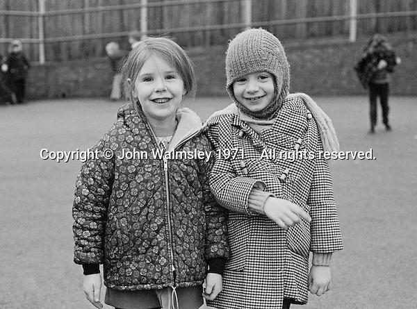 Julians Primary, London 1971.