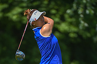Annie Park (USA) watches her tee shot on 15 during round 2 of the 2018 KPMG Women's PGA Championship, Kemper Lakes Golf Club, at Kildeer, Illinois, USA. 6/29/2018.<br /> Picture: Golffile | Ken Murray<br /> <br /> All photo usage must carry mandatory copyright credit (&copy; Golffile | Ken Murray)