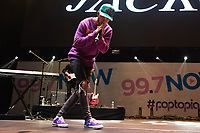 SAN JOSE, CA - DECEMBER 1: Jack Johnson of Jack and Jack performs onstage at The SAP Center during the 99.7 Now POPTOPIA in San Jose, California. <br /> CAP/MPI/IS/CT<br /> &copy;CT/IS/MPI/Capital Pictures