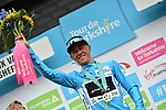 Serge Pauwels (BEL) Team Dimension Data wins the stage and overall classification at the end of Stage 3 of the Tour de Yorkshire 2017 running 194.5km from Bradford/Fox Valley to Sheffield, England. 30th April 2017. <br /> Picture: ASO/P.Ballet | Cyclefile<br /> <br /> <br /> All photos usage must carry mandatory copyright credit (&copy; Cyclefile | ASO/P.Ballet)