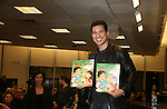 Bold and The Beautiful's Mario Lopez with a new book Mud Tacos or Tacos de Lodo on October 16, 2009 at Lincoln Square Barnes & Noble, New York City, New York. (Photos by Sue Coflin/Max Photos)