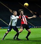 Keegan Burton of Sheffield United under 18's in action during the FA Youth Cup 3rd Round match at Deepdale Stadium, Preston. Picture date: November 30th, 2016. Pic Matt McNulty/Sportimage
