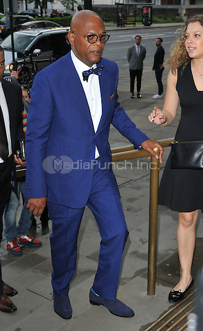 Samuel L Jackson at the One For The Boys Charity Ball in aid of the One For The Boys charity, Victoria &amp; Albert Museum, Cromwell Road, London, England, UK, on Sunday 12 June 2016.<br /> CAP/CAN<br /> &copy;CAN/Capital Pictures /MediaPunch ***NORTH AND SOUTH AMERICAS ONLY***