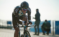 Christophe Riblon (FRA) <br /> <br /> 3 Days of West-Flanders 2014<br /> day 1: TT/prologue Middelkerke 7,0 km
