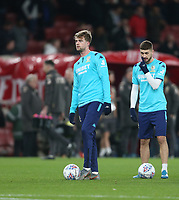 Leeds United's Patrick Bamford during the warm-up<br /> <br /> Photographer Rob Newell/CameraSport<br /> <br /> Emirates FA Cup Third Round - Arsenal v Leeds United - Monday 6th January 2020 - The Emirates Stadium - London<br />  <br /> World Copyright © 2020 CameraSport. All rights reserved. 43 Linden Ave. Countesthorpe. Leicester. England. LE8 5PG - Tel: +44 (0) 116 277 4147 - admin@camerasport.com - www.camerasport.com