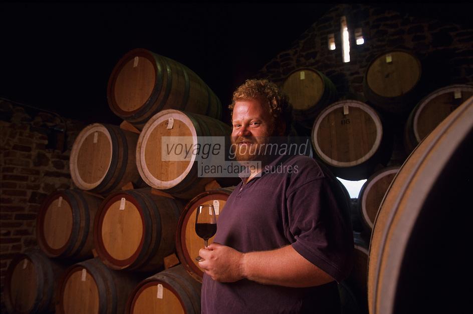 Océanie/Australie/Australie Méridionale/Barossa Valley/Tanunda : Vignobles Rockford les chais