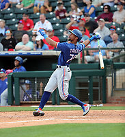 Leody Taveras - Texas Rangers 2020 spring training (Bill Mitchell)