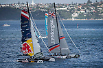 Competitors in action during Day 2 of the Extreme Sailing Series Act 8 Final Showdown on 12 December 2014, in Sydney, Australia. Photo by Victor Fraile / Power Sport Images