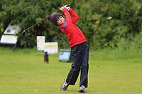 Callum Duane (Royal Curragh) during the Connacht U14 Boys Amateur Open, Ballinasloe Golf Club, Ballinasloe, Galway,  Ireland. 10/07/2019<br /> Picture: Golffile | Fran Caffrey<br /> <br /> <br /> All photo usage must carry mandatory copyright credit (© Golffile | Fran Caffrey)