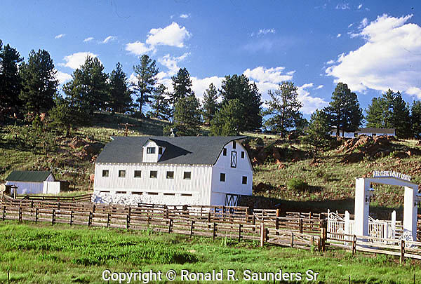 THE CURRENT OLD RANCH ON HIGHWAY 285 IN COLORADO IS NO LONGER a FARM BUT AN EVENT VENUE