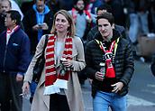 14th September 2017, Emirates Stadium, London, England; UEFA Europa League Group stage, Arsenal versus FC Cologne; FC Koln fans arrive at The Emirates Stadium