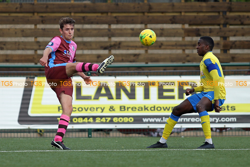 Rakim Richards of Haringey during Haringey Borough vs Corinthian Casuals, BetVictor League Premier Division Football at Coles Park Stadium on 10th August 2019