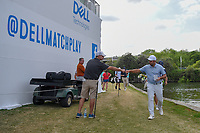 Francesco Molinari (ITA) fist bumps a fan on enroute to the tee on 13 during day 3 of the WGC Dell Match Play, at the Austin Country Club, Austin, Texas, USA. 3/29/2019.<br /> Picture: Golffile | Ken Murray<br /> <br /> <br /> All photo usage must carry mandatory copyright credit (© Golffile | Ken Murray)