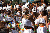 Carnival group from the Yaa Asantewaa Arts Centre on children's day at Notting Hill Carnival