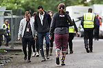 © Joel Goodman - 07973 332324 . .  12/06/2016 . Manchester , UK . Police in festival clothes at the Parklife music festival at Heaton Park in Manchester as GMP extend an appeal to find Rebecca Dacre , 26 from Ulverston , who went missing during the festival last night (11th June 2016) . Photo credit : Joel Goodman