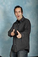 Montreal (QC) CANADA - October 2008 File Photo-<br /> Exclusive portrait of Astral Radio host <br /> Brandon CRADDOCK