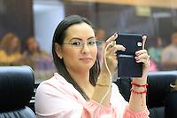 Dip. Iris Sanchez Chiu, durante la session ordinaria de esta ma&ntilde;ana, en la camara de diputados del H. Congreso del estado de Sonora<br /> ** &copy;Foto:LuisGutierez/NortePhoto.com