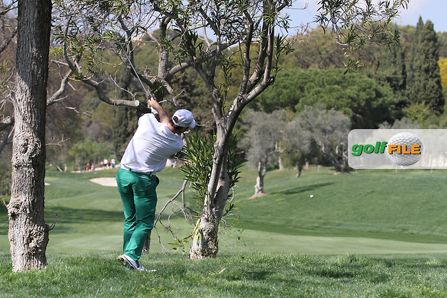 Oliver Wilson (ENG) on the 10th on Day 3 of the 2012 Open de Andalucia Costa del Sol at Aloha Golf Club, Marbella, Spain....(Photo Jenny Matthews/www.golffile.ie)
