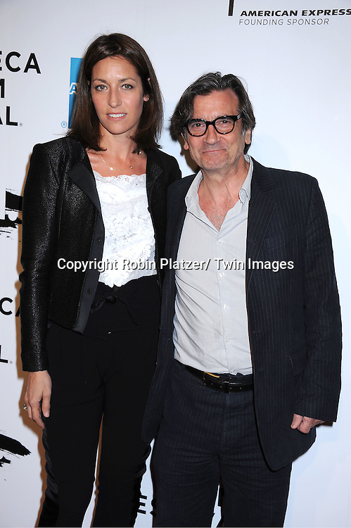 """Griffin Dunne and wife Anna attending The opening night of The Tribeca Film Festival .Screening of """" The Union"""" on April 20, 2011 at The Winter Garden at the World Financial Plaza in New York City."""