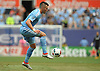 Jack Harrison #11 of NYC Football Club settles a pass during the first half of a Major League Soccer match against the New York Red Bulls at Yankee Stadium on Sunday, July 3, 2016. He scored a goal early in the first half and was named player of the match in NYCFC's 2-0 win.