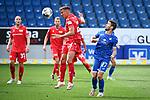 v.l. Grisha Proemel (Union Berlin), Andrej Kramaric (Hoffenheim).<br /> <br /> Sport: Fussball: 1. Bundesliga: Saison 19/20: 33. Spieltag: TSG 1899 Hoffenheim - 1. FC Union Berlin, 20.06.2020<br /> <br /> Foto: Markus Gilliar/GES/POOL/PIX-Sportfotos<br /> <br /> Foto © PIX-Sportfotos *** Foto ist honorarpflichtig! *** Auf Anfrage in hoeherer Qualitaet/Aufloesung. Belegexemplar erbeten. Veroeffentlichung ausschliesslich fuer journalistisch-publizistische Zwecke. For editorial use only. DFL regulations prohibit any use of photographs as image sequences and/or quasi-video.