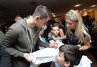 Pictured: Lukasz Fabianski Tuesday 06 December 2016<br />Re: Swansea City FC Christmas Party at the Liberty Stadium, Wales, UK