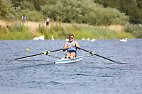 Race: 72  1x (Band 3)  SF 2<br /> <br /> Peterborough Summer Regatta 2018 - Saturday<br /> <br /> To purchase this photo, or to see pricing information for Prints and Downloads, click the blue 'Add to Cart' button at the top-right of the page.