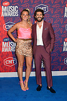 05 June 2019 - Nashville, Tennessee - Thomas Rhett, Lauren Akins. 2019 CMT Music Awards held at Bridgestone Arena. <br /> CAP/ADM/DMF<br /> ©DMF/ADM/Capital Pictures