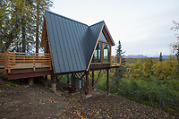 A view of the s Mt. McKinley Princess Wilderness Lodge's new Treehouse Masters treehouse Sunday, Sept 17 , 2017 at the Mt. McKinley Princess Wilderness Lodge near Trapper Creek, Alaska. (Photo by Michael Dinneen/Invision) for Princess Cruises (AP Images)