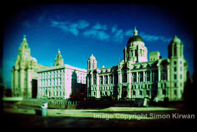 Holgarizer Images Images of Liverpool waterfront, created using Nikon D3X & Grey Jay's Holgarizer Photoshop action.