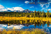 Tom Mackie, LANDSCAPES, LANDSCHAFTEN, PAISAJES, photos,+Canada, Canadian, Jasper National Park, North America, Pyramid Mountain, Tom Mackie, USA, autumn, autumnal, cloud, clouds, cl+oudscape, fall, horizontal, horizontals, lake, lakes, landscape, landscapes, mountain, mountainous, mountains, national park,+no people, peak, pine tree, pine trees, reflecting, reflection, reflections, rocky, scenery, scenic, season, water, water's+edge, weather,Canada, Canadian, Jasper National Park, North America, Pyramid Mountain, Tom Mackie, USA, autumn, autumnal, clo+,GBTM170351-1,#l#, EVERYDAY
