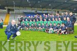 Milltown-Castlemaine trainer John Fintan Daly and the Milltown-Castlemaine squad at their press day in Killarney on Sunday..