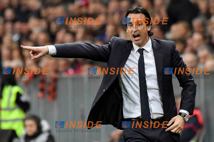 Unai Emry (Entraineur du Paris Saint Germain)<br /> Nizza 30-04-2017 <br /> Nice - Paris Saint Germain Ligue 1 2016/2017  <br /> Foto Philippe LECOEUR/ Panoramic/insidefoto