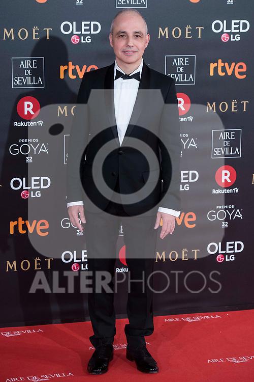 Pablo Berger attends red carpet of Goya Cinema Awards 2018 at Madrid Marriott Auditorium in Madrid , Spain. February 03, 2018. (ALTERPHOTOS/Borja B.Hojas)